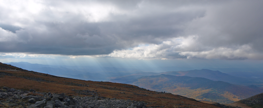 Photo: Clouds from Mt. Washington.